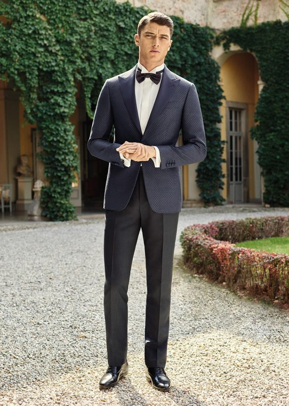45b238b6bb Spring\Summer'18 formal and wedding inspiration by Canali. Notice the use  of blues and subtle patterns in their formal collection.
