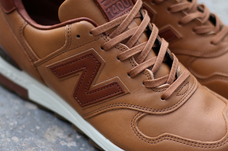 new balance 1400 horween leather