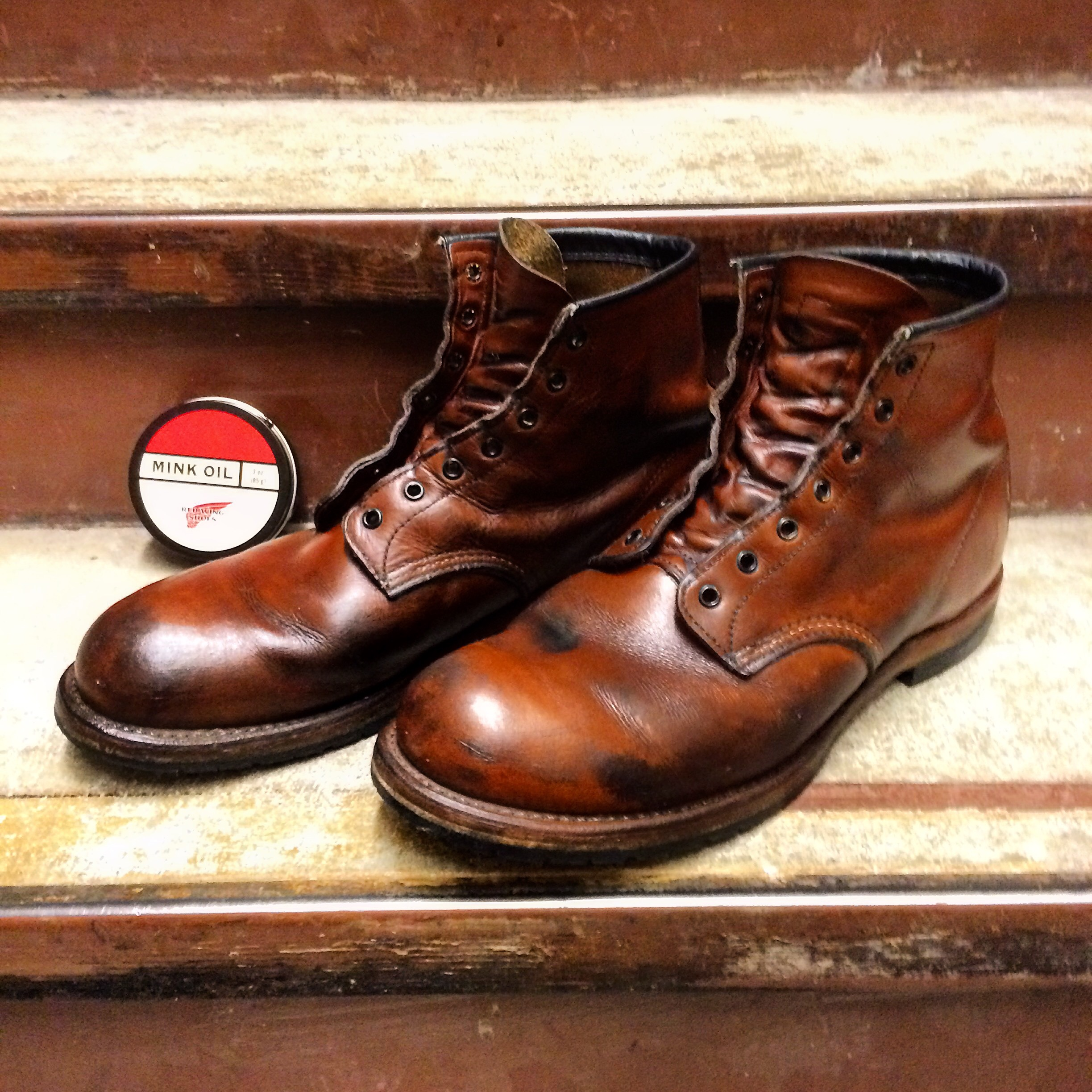 Red Wing Boot Oil Vs Mink Oil 4
