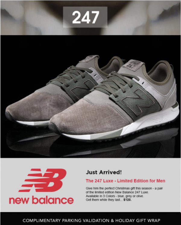 new balance limited edition 2017