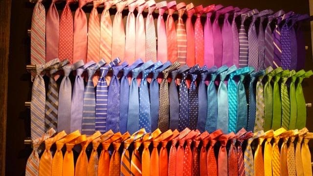 041200159801 Love this shot of spring'15 Robert Talbott ties.