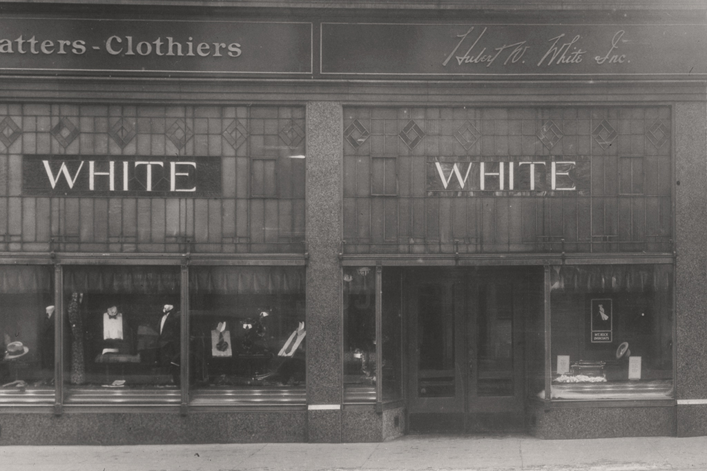 Clothes stores Huberts clothing store