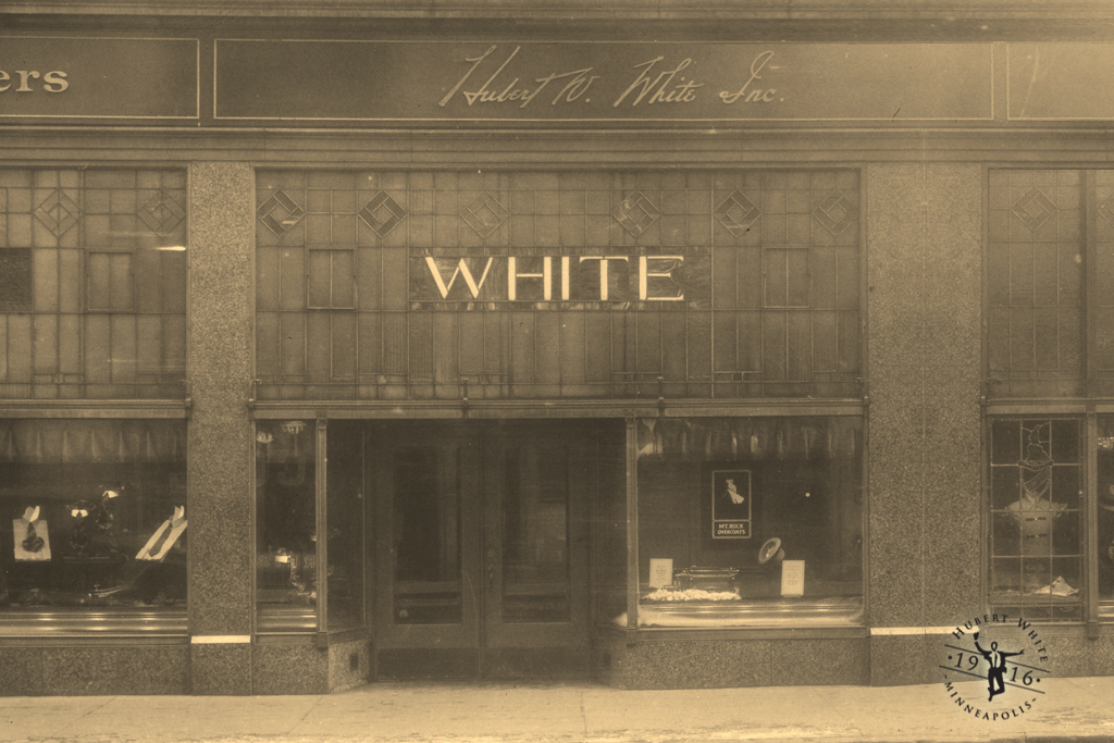 Hubert White Men's Store: 1930s