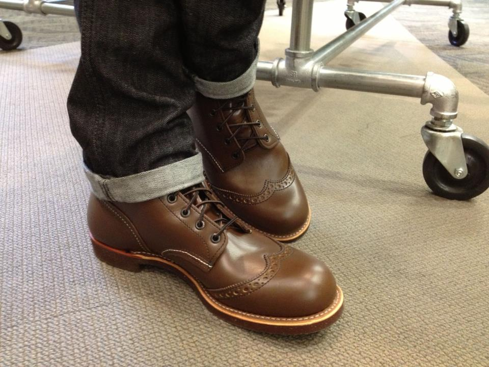 red wing boots | Hubert White